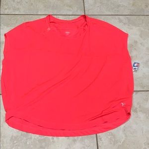 NWT! Old Navy Active Hot Pink Oversize Top XL